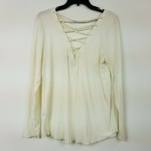 Planet Gold Size 1X White Thermal Top 6AR60